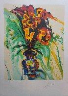 Fleurs Surréaliste Suite of 2 1980 Limited Edition Print by Salvador Dali - 2