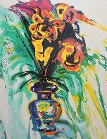 Fleurs Surréaliste Suite of 2 1980 Limited Edition Print by Salvador Dali - 1