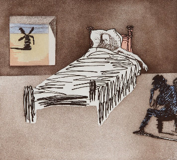 Le Legacy From Historia De Don Quichotte De La Mancha 1980 Limited Edition Print by Salvador Dali