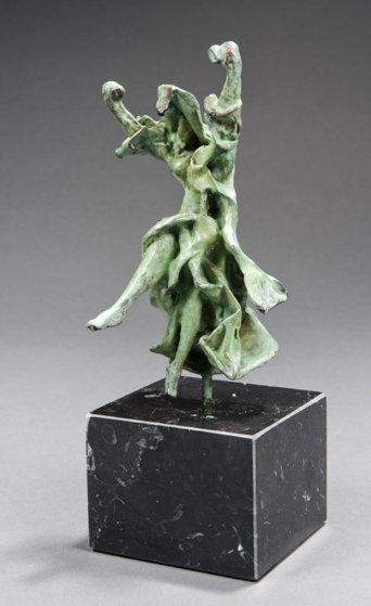 Carmen Castanets Bronze Sculpture 1970 10 in Sculpture by Salvador Dali