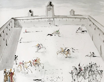 Tienta En Espana 1983 Limited Edition Print - Salvador Dali