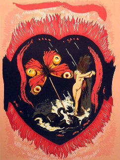 Triomphe De l\' Amour 1978 Suite of 2  Limited Edition Print - Salvador Dali