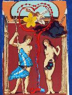 Triomphe De l' Amour 1978 Suite of 2 Limited Edition Print by Salvador Dali - 4