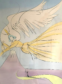 Hagoromo, Japanese Fairy Tales HC 1975 Limited Edition Print by Salvador Dali