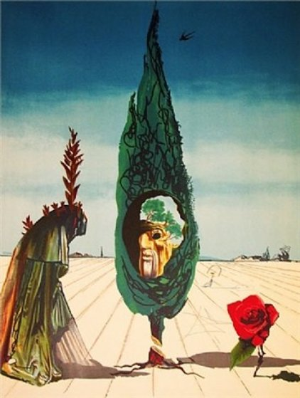 Visions Surrealiste Suite of 4 1976 Limited Edition Print by Salvador Dali