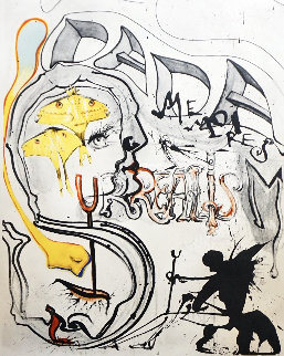 Memories of Surrealism: Angel of Dada Surrealism 1971 Limited Edition Print - Salvador Dali
