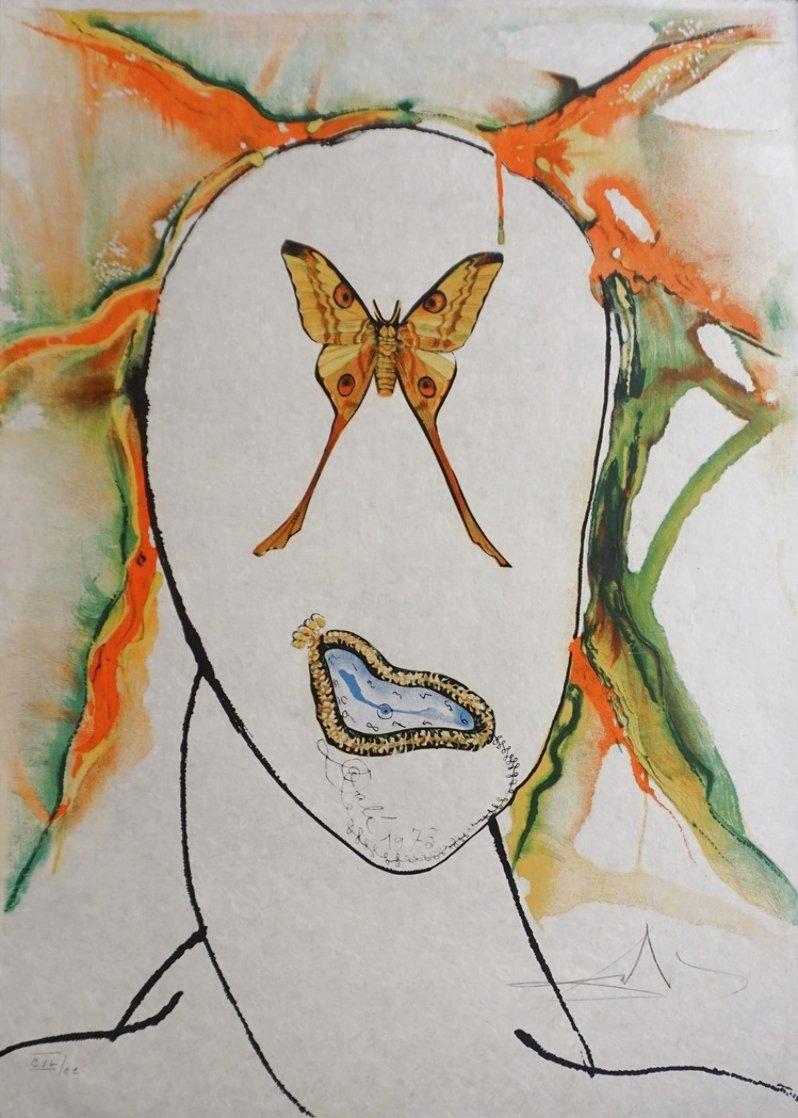 Kabuki Dancer 1973 Limited Edition Print by Salvador Dali