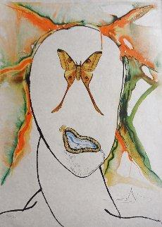 Kabuki Dancer 1973 Limited Edition Print - Salvador Dali