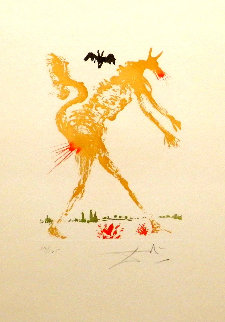 8 Mortal Sins Pride 1966 (Early) Limited Edition Print by Salvador Dali
