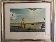 Savage Beasts in the Desert 1976 Limited Edition Print by Salvador Dali - 1