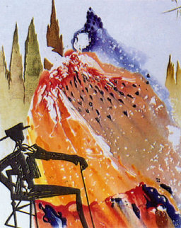 Carmen Suite: Love is Like a Gypsy 1969 Limited Edition Print by Salvador Dali