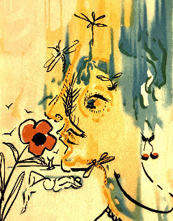 Vanishing Face HC 1980 Limited Edition Print by Salvador Dali