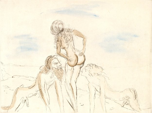 Circe 1969 (Early) Limited Edition Print by Salvador Dali