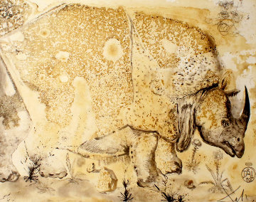 Rhinoceros 1970 Limited Edition Print - Salvador Dali