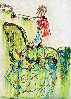 Roman Knight (Le Chevalier Roman) 1972 Limited Edition Print - Salvador Dali