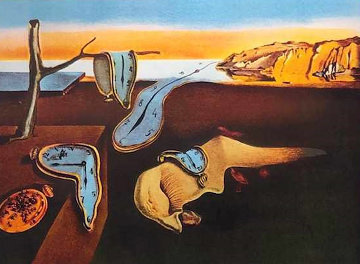 Persistence of Memory 1974 Limited Edition Print by Salvador Dali