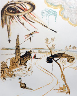 Fantastic Voyage 1965 Limited Edition Print by Salvador Dali