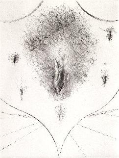 Sexe 1972 ( Vulva) Limited Edition Print - Salvador Dali
