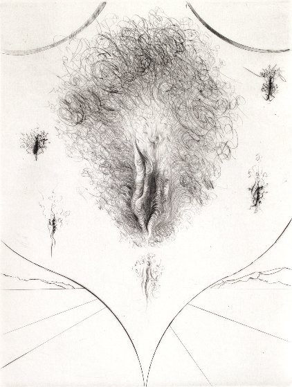 Sexe 1972 Limited Edition Print by Salvador Dali