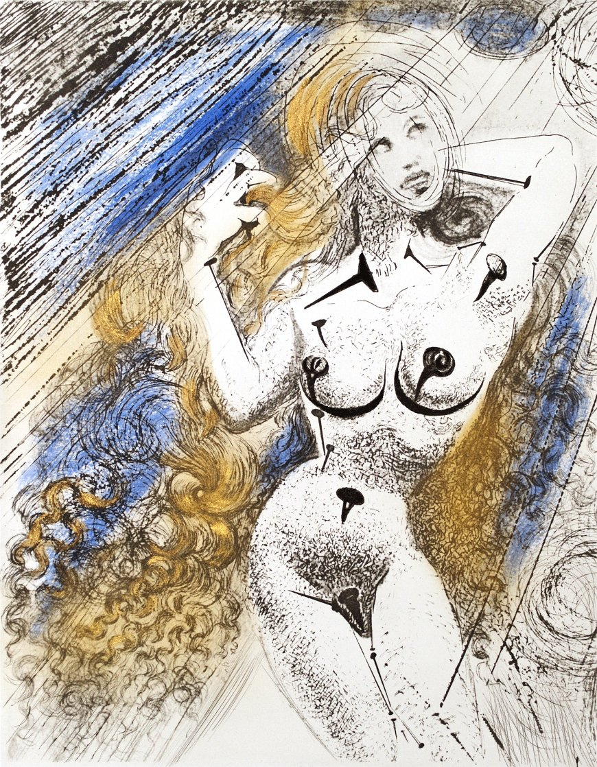 Marilyn 1967 (Early) Limited Edition Print by Salvador Dali