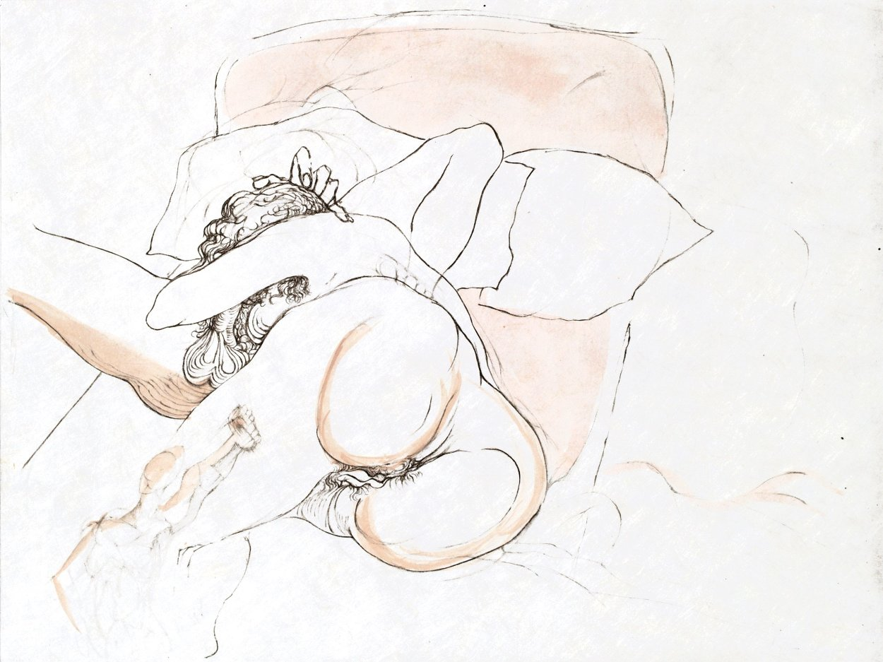 Warriors Repose 1969 (Early) Limited Edition Print by Salvador Dali