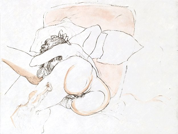 Warriors Repose 1969 Limited Edition Print by Salvador Dali