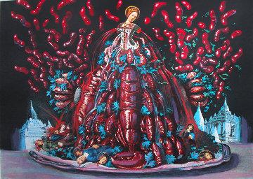 Les Diners De Gala: Les Canibalismes De l'automne 1971 Limited Edition Print - Salvador Dali