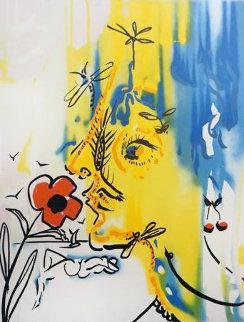 Fleurs Surrealiste Vanishing Face 1980 Limited Edition Print - Salvador Dali