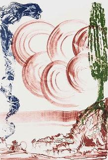 Atomo Moscas 1973 Limited Edition Print by Salvador Dali