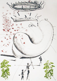 Moscas AP 1973  Limited Edition Print by Salvador Dali