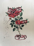 Rosa E Morte 1972 Limited Edition Print by Salvador Dali - 1