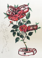 Rosa E Morte 1972 Limited Edition Print by Salvador Dali - 5