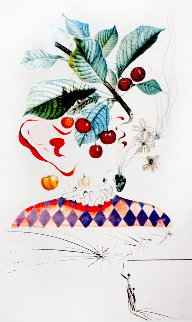 Flordali / Les Fruits: Cherries 1969 Limited Edition Print - Salvador Dali
