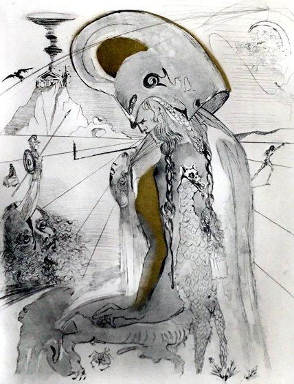 Athena 1963 Limited Edition Print by Salvador Dali