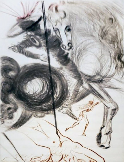 Le Decameron - Complete Suite, 10 Engravings 1972 Limited Edition Print by Salvador Dali