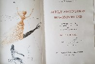 Alice's Adventures in Wonderland, Portfolio with 12 Prints, Woodcuts and Etchings 1969  Limited Edition Print by Salvador Dali - 1