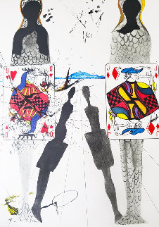 Alice's Adventures in Wonderland, Portfolio with 12 Prints, Woodcuts and Etchings 1969 (E Limited Edition Print by Salvador Dali