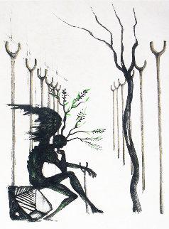 Le Vitrail 1968 Limited Edition Print - Salvador Dali