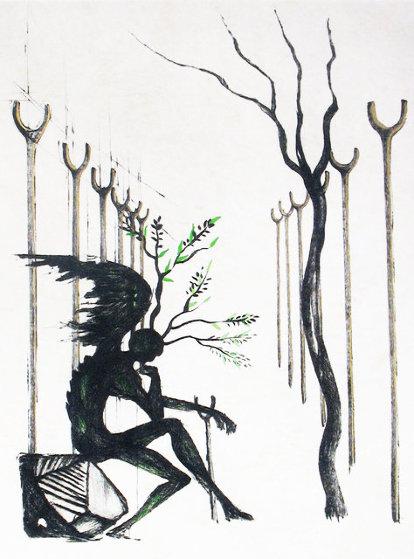 Le Vitrail 1968 Limited Edition Print by Salvador Dali