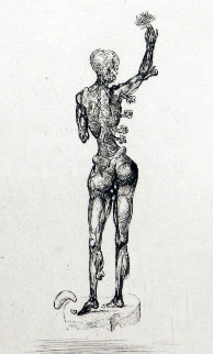 Les Chants De Maldoror  (Figure)  1934 Very Early Limited Edition Print by Salvador Dali