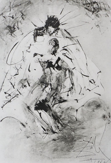 Les Rois Mages Pieta 1960 (Very Early) Limited Edition Print by Salvador Dali