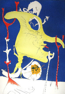 Conquest of the Cosmos: The Blood of Yin And Yang 1974 Limited Edition Print by Salvador Dali