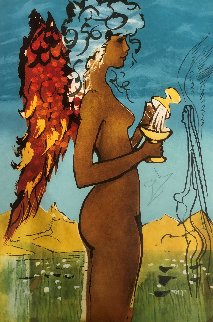 Trilogy of Love: Love\'s Promise AP 1976 Limited Edition Print - Salvador Dali