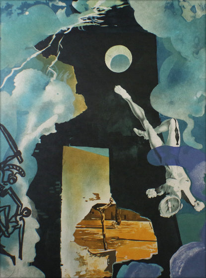 Trilogy of Love: Eternity of Love AP  1976 Limited Edition Print by Salvador Dali