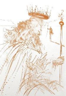 King Lear  1968 EA  (Early) Limited Edition Print - Salvador Dali