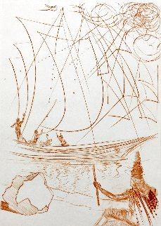 Tempest  1968  EA (Early) Limited Edition Print - Salvador Dali