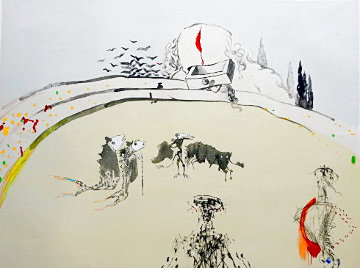 Tauramachie Surrealiste Bullfight With Drawers 1970 Limited Edition Print by Salvador Dali