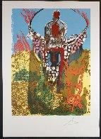 Bullfighter (Golden Calf) 1980 Limited Edition Print by Salvador Dali - 1