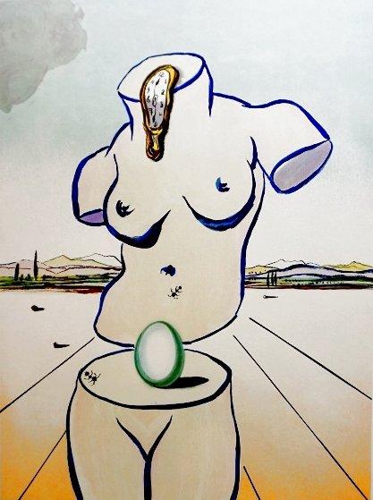 Birth of Venus 1979 Limited Edition Print by Salvador Dali