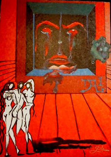 Visions Surrealiste: Obsession of the Heart 1976 Limited Edition Print by Salvador Dali
